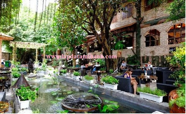 54 best garden cafe designs images on Pinterest | Landscaping ...