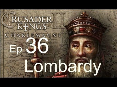 Crusader Kings 2 Lombardy Ep36 (Queen is dead)