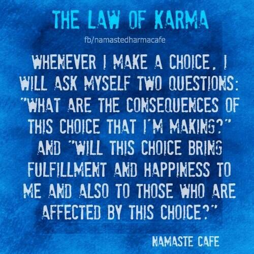 the law of karma The key to listening well the key to listening to people's pain, paradoxically, is to be clear that we are not responsible for taking it away the entire stu.