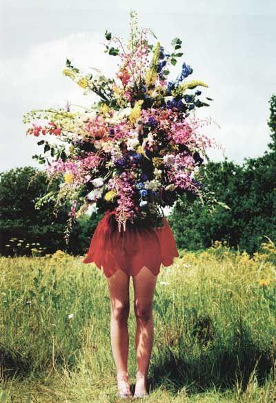 Flores que transbordam