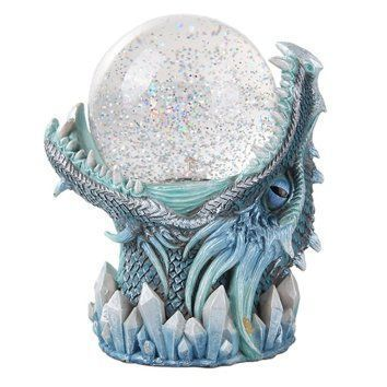 Frost Ice Dragon StormBall Iceburg Statue Sound Activated Gliter Sparkle I have always loved snow globes they are enchanting, majestic and super cool. I love that they are a rare novelty item that has a history and nostalgic meaning. They make great home decorative accents and can be used in every room of the home. Holiday snow gloves are some of my favorite. They make excellent gifts and I love the wide variety there are. These are super adorable and a great add to your snow...