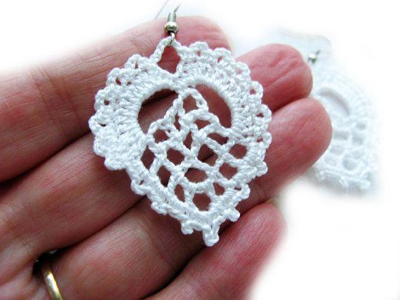 PDF Tutorial Crochet Pattern...Dangle Earrings 5