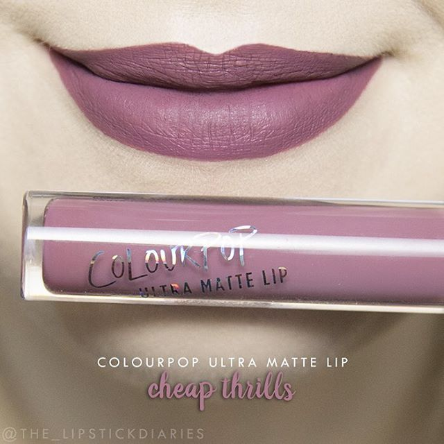 Colourpop Ultra Matte Lip - Cheap Thrills Application - 5 | Pigmentation - 5 | Longevity - 4 1/2 | Texture - 5 | Packaging - 5 | Overall - A Easy application and nice pigmentation. It felt very comfortable on the lips, really not drying at all. For the most part it was transfer proof, but I did notice later in the day a small amount would transfer. After lunch there was some fading in the center, but it still looked great. Wore really well throughout the day. Once I had dinner the fading in…
