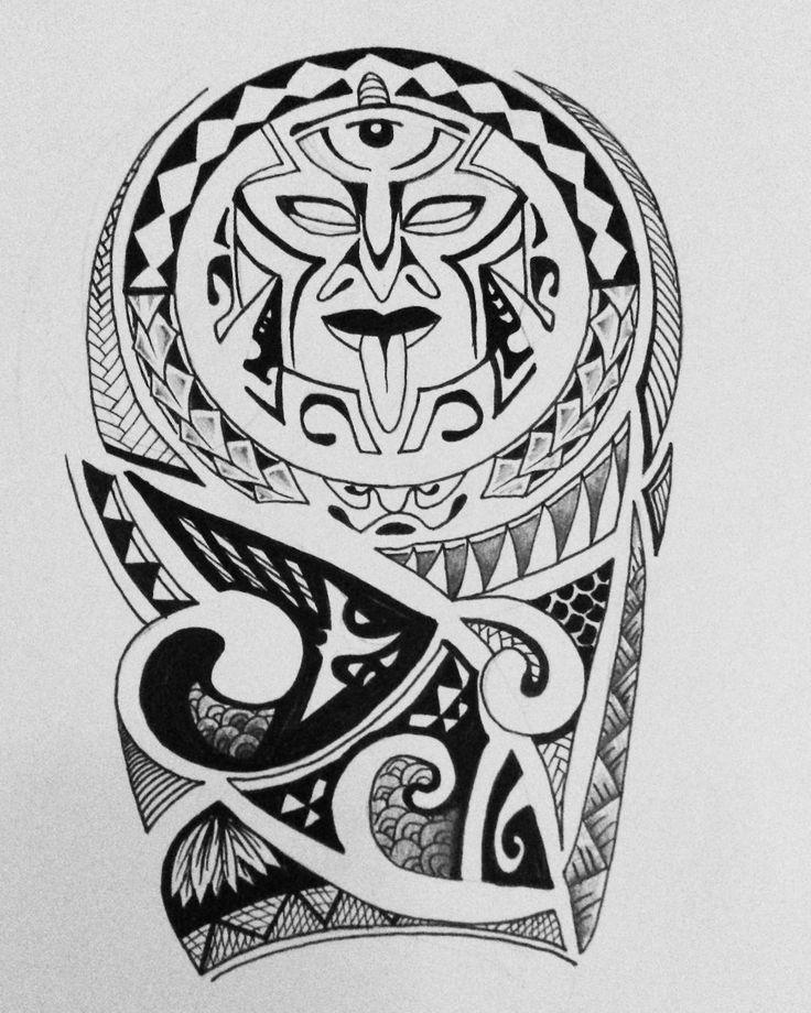 #tattoodesign #tattoo #design #maori #tribal #black #blackwork #artwork…