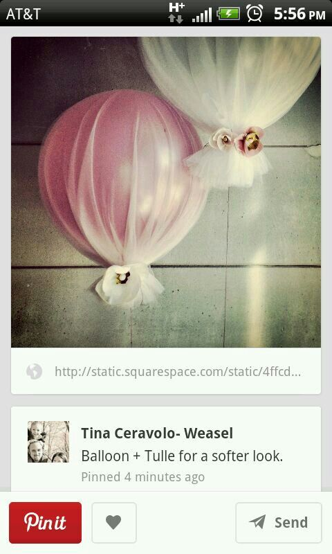 What about white tulle over white balloon with light inside.  Tie with jute string.