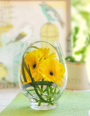 46 best easter eggs and gift hampers images on pinterest gift netflorist is south africas largest sameday flower gift delivery service buy egg shaped vase of yellow gerberas online today negle Images