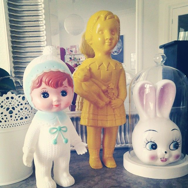 Woodland doll, Clonette & bunny / Mon Arbre Magique