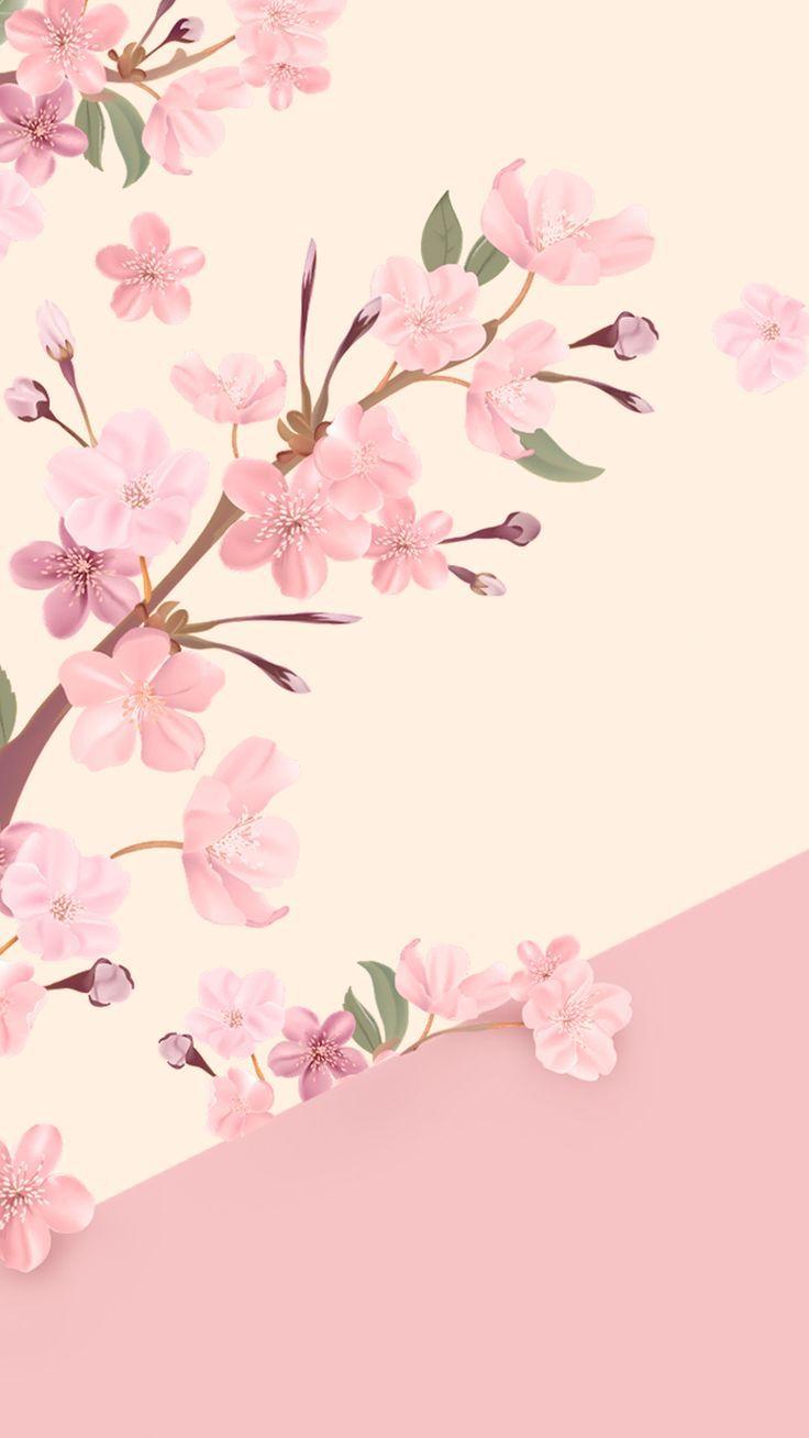 Wallpaper Flores Delicadas By Gocase Flowers Flores Pink