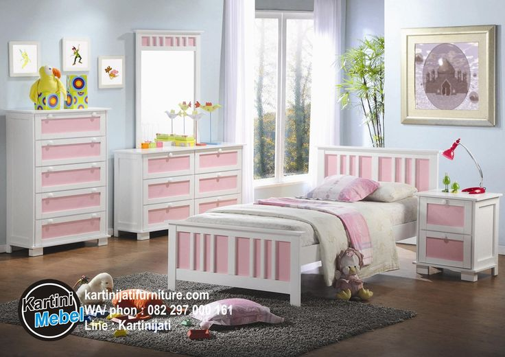 Harga set kamar anak, tempat tidur anak, set kamar anak pink duco, ditawarkan dengan tawaran harga yang sangat terjangkau untuk Anda