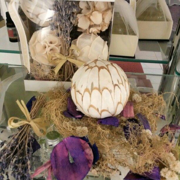 Potpourri e esferas-Lavanda