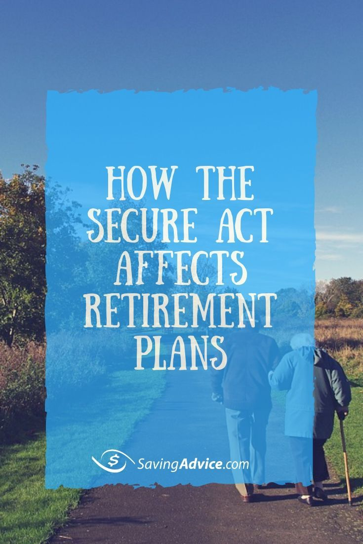 The Secure Act Recently Passed Unanimously Through The House Ways And Means Committee Find Out What Retirement Planning Couples Money Management Money Lessons