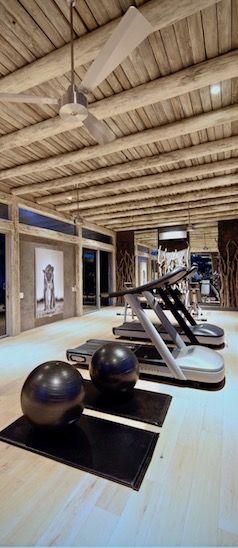 Kapama Karula Spa Gym.