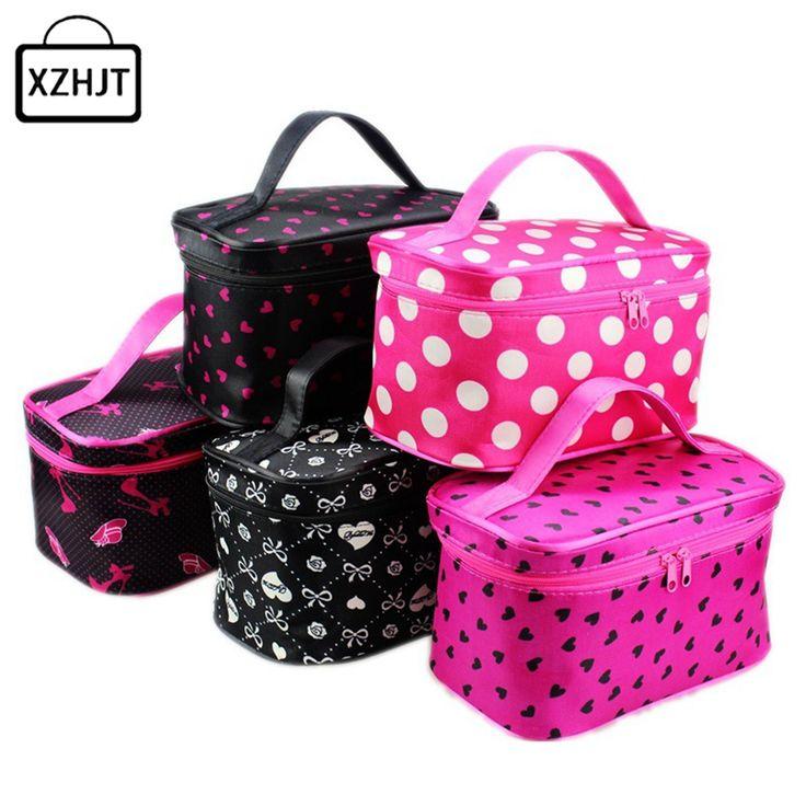 $2.39 (Buy here: https://alitems.com/g/1e8d114494ebda23ff8b16525dc3e8/?i=5&ulp=https%3A%2F%2Fwww.aliexpress.com%2Fitem%2FWomen-Cosmetic-Bag-Harajuku-Striped-Dots-Makeup-Bag-Portable-Travel-Toiletry-Handbag-Make-Up-Organizer-Box%2F32780829808.html ) Women Cosmetic Bag Harajuku Striped Dots Makeup Bag Portable Travel Toiletry Handbag Make Up Organizer Box Case for just $2.39
