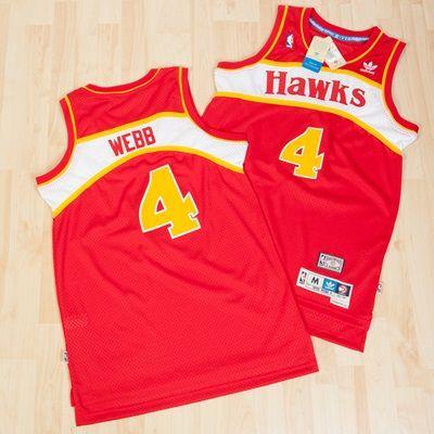 Atlanta Hawks Road Soul Swingman Jersey - Spud Webb - Mens: Atlanta Hawks Road Soul Swingman Jersey - Spud Webb -… #nbastore #nbastoreeurope