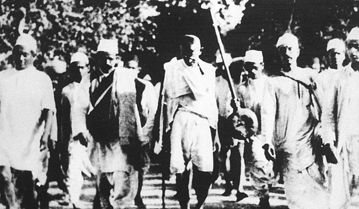 At the age of 12, Tao Porchon-Lynch took part in the Salt March protest led by Mahatma Gandhi. Photo: AFP