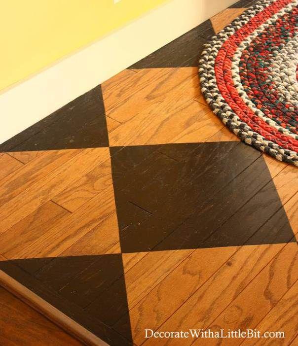 Painted Floor Ideas 37 best chalk paint® on floors images on pinterest   painted