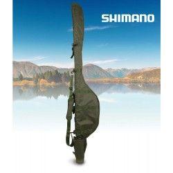 Shimano Olive Fourreau Compact, pour 2 cannes dans 12ft, 200cm x 35cm x 16cm