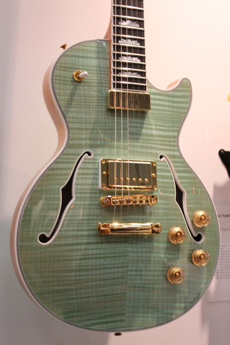 Beautiful Gibson Guitar NAMM 2014 #guitars #music #musicians