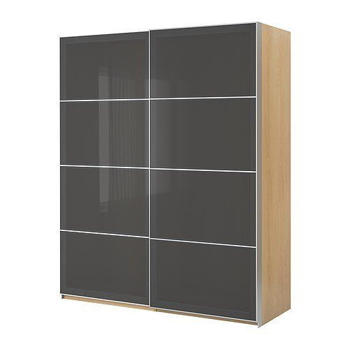 IKEA(イケア) PAX バーチ調 150x66x201 cm 59887356 ワードローブ 引き戸付、バーチ調、ウッグダル グレー IKEA(イケア) http://www.amazon.co.jp/dp/B00C65EICS/ref=cm_sw_r_pi_dp_1ilivb1ADXWPT