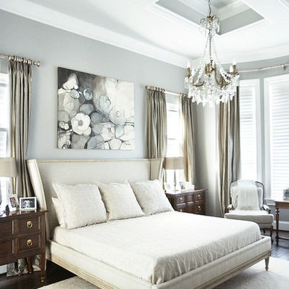 43 Best Silver And Gold Bedroom Images On Pinterest  Guest Entrancing Silver Bedroom Decor Design Ideas
