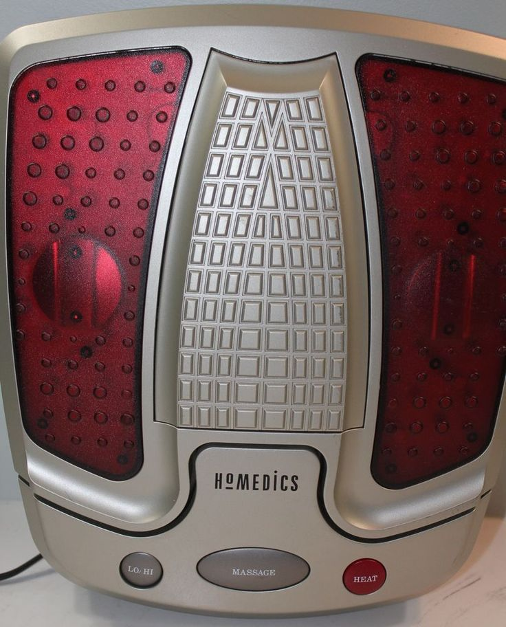 homedics foot massager instructions