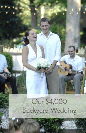 25+ best ideas about Cheap backyard wedding on Pinterest | Cheap ...