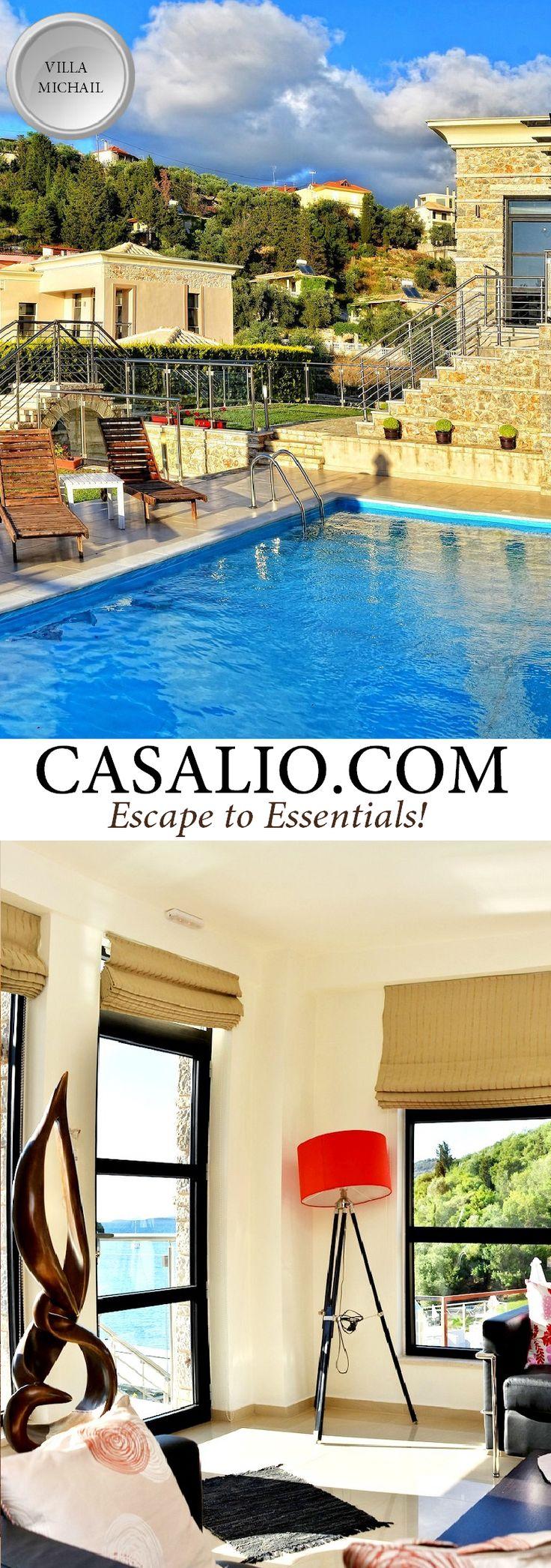 Ferienvilla   Villa Rental Ferienhaus www.casalio.com    Villa Michail    Greece - Karvouno    Luxurious villa, fully airconditioned, Karvouno Beach, 2 bedrooms, private pool, seaview. #Luxury #Villas #LuxuryVillas #Greece #Karvouno #BeachFront #BeachVacation #Rental #LuxuryTravel #Travel #LuxuryLife #LuxuryLifeStyle #LuxuryTravel #luxuryhotels (Pinned by #Casalio - www.casalio.com) Our travel blog - www.casaliotravel.com