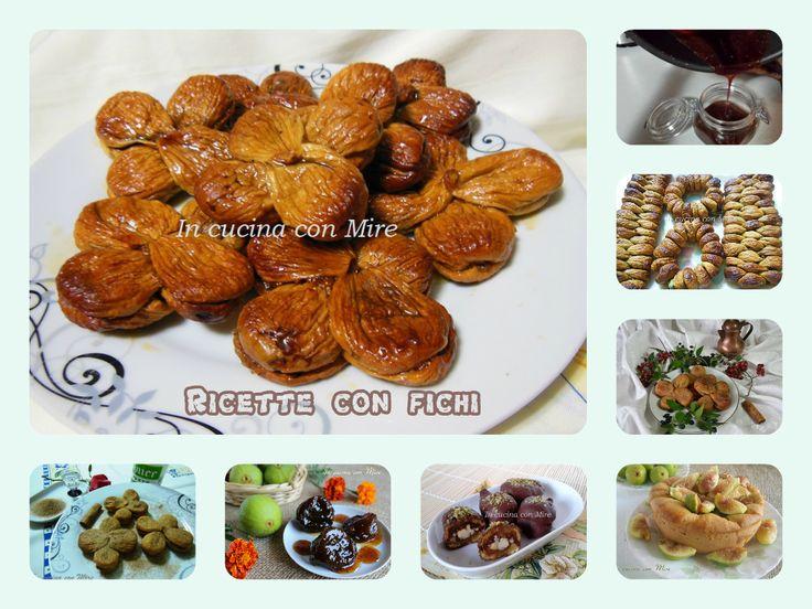 #gialloblogs #ricetta #enyoy #raccoltafichi Fichi di Calabria-Ricette home made   In cucina con Mire