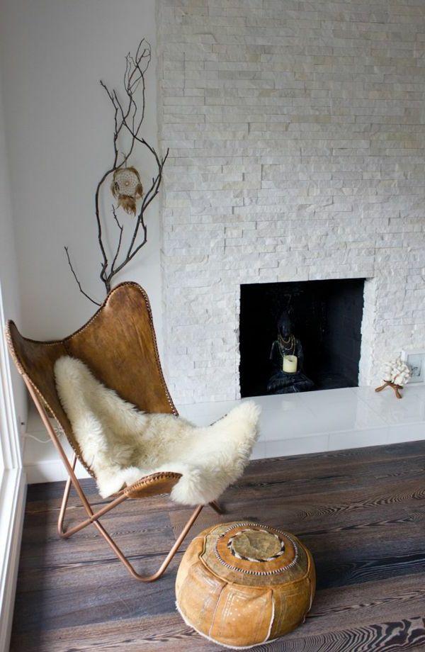 pour bien aménager chez soi mettez un fauteuil papillon