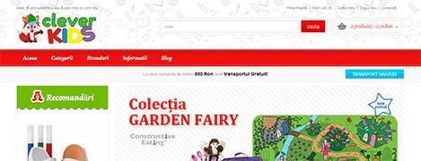 Cleverkids - magazin online ce contine produse pentru copii | in-time.ro