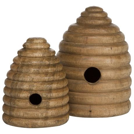 Colony Beehive 12cm Natural
