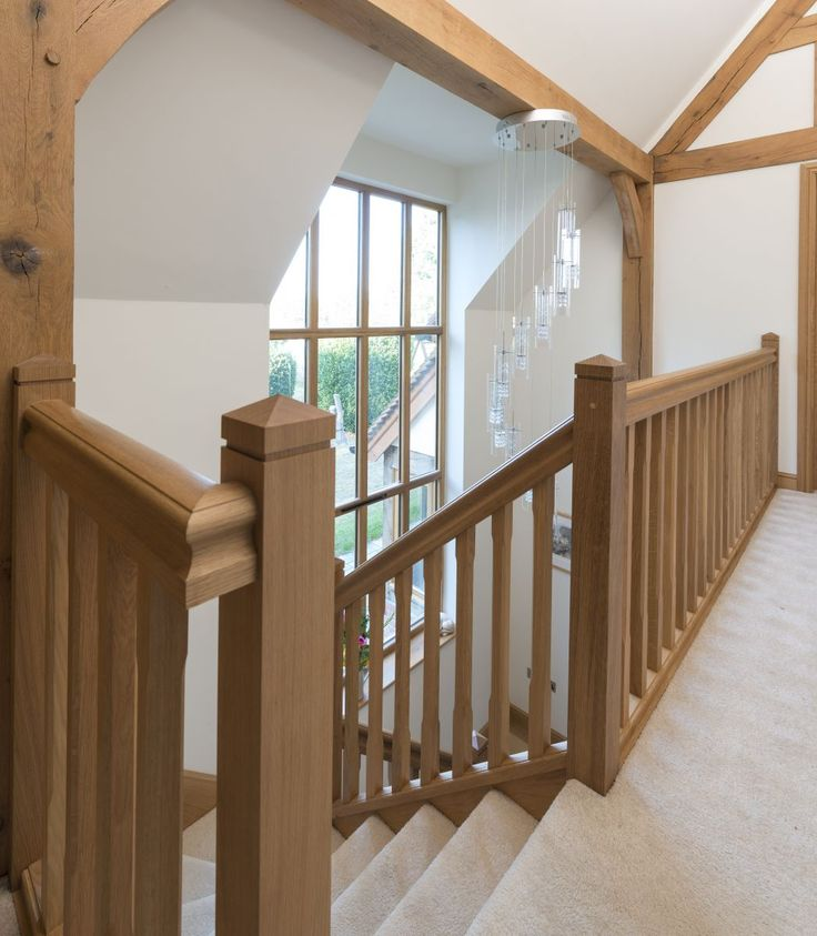 Best 25 Farmhouse Stairs Ideas On Pinterest: Best 25+ Oak Handrail Ideas On Pinterest
