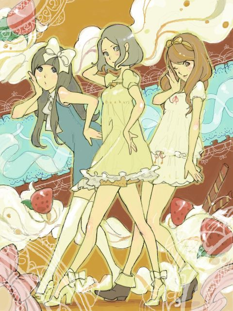 Perfume fanart.  Awesome jpop group