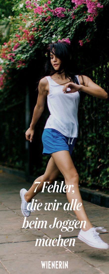 Laufen: 7 Fehler, die wir alle beim Laufen machen