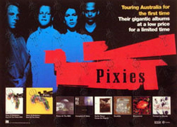 PIXIES - Laminated Back Catalogue Promo Poster (Posters, Regular Sizes) | Rare Records