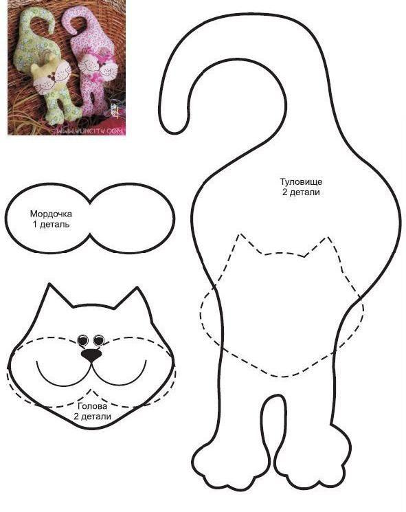 Vancrisk Arteira=): Molde gatinho para maçaneta de porta