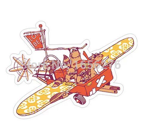 Дешевое Енот летающий. старинные самолеты эксклюзивные водонепроницаемый наклейки. личность ноутбуков для мобильного телефона чемодан наклейки, Купить Качество Наклейки непосредственно из китайских фирмах-поставщиках:     \ = Бумаги, водонепроницаемый поверхности мембраны, прочный, крепкий низкая вязкость подходит для внутреннего ноутбу