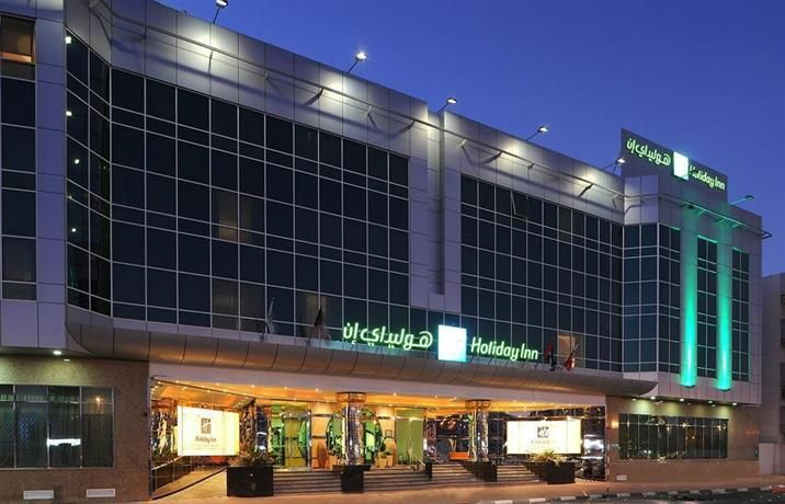 OopsnewsHotels - Holiday Inn Bur Dubai Embassy District. Strategically located in the centre of the city, this 4.5-star hotel makes for an ideal base in Dubai. It also offers a sauna, a free shuttle service and free Wi-Fi.   Holiday Inn Bur Dubai Embassy District provides a range of amenities, including an outdoor heated pool, 24-hour room service and a golf course. Staff are available 24-hours a day and can book tours and tickets.