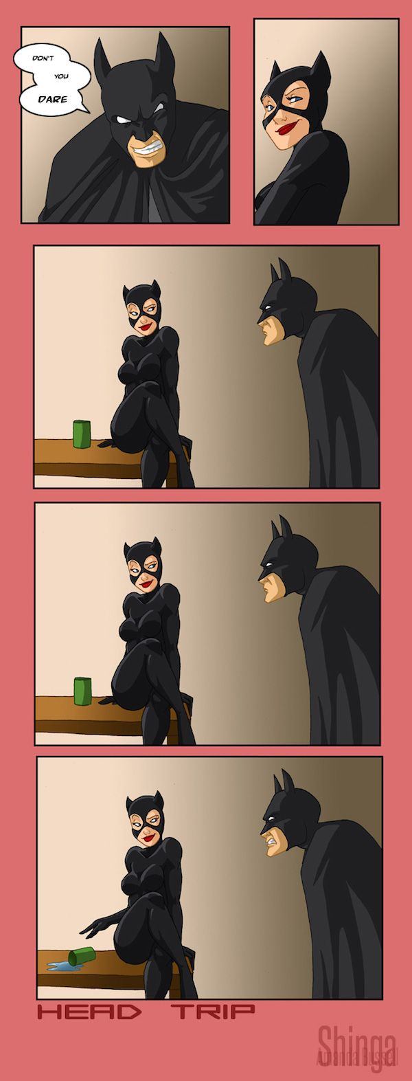 Catwoman Knows How To Make Batman Crazy [Comic]