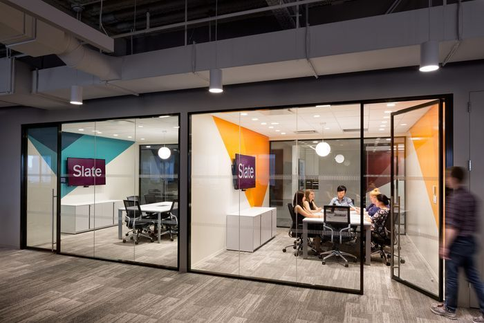 Slate Magazine Offices - New York City - Office Snapshots