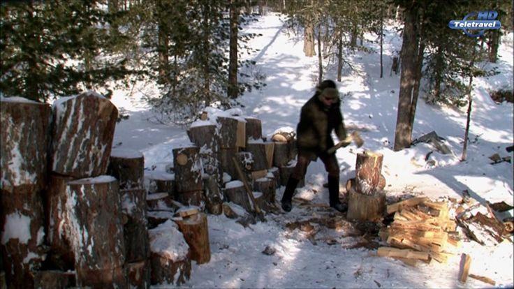 Alone 180 Days on Lake Baikal. Documentary by Sylvain Tesson