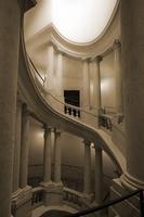 Borromini spiral staircase, palazzo Barberini, Rome