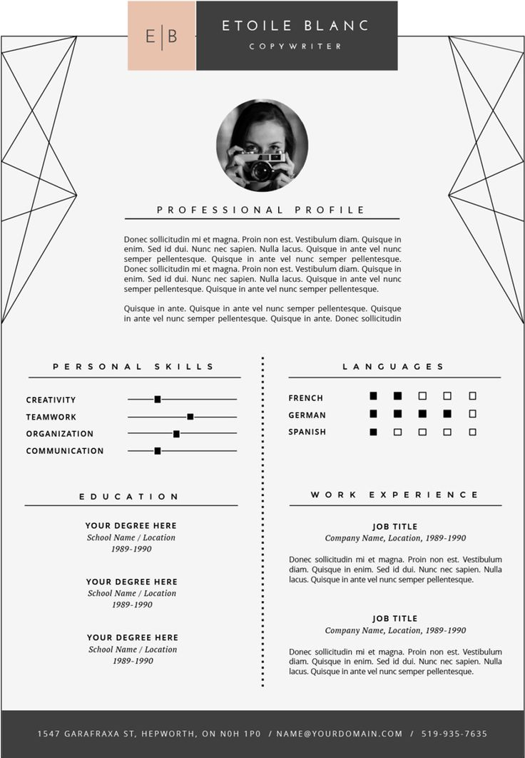 Professional Fonts For Resume in 2020 (With images