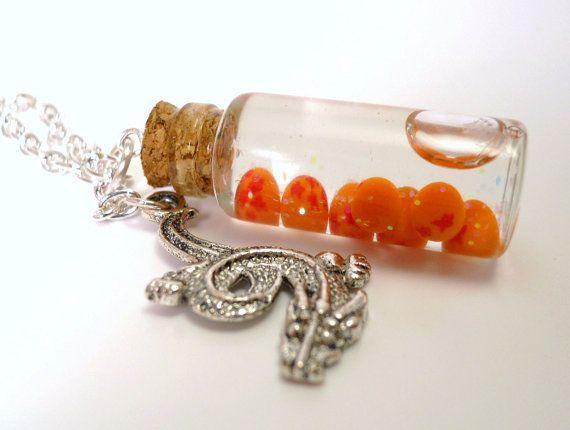 Dragon Ball Z Inspired Bottled Dragon Balls Glass Vial....    YES