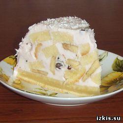 Торт желейный «Сметанка»
