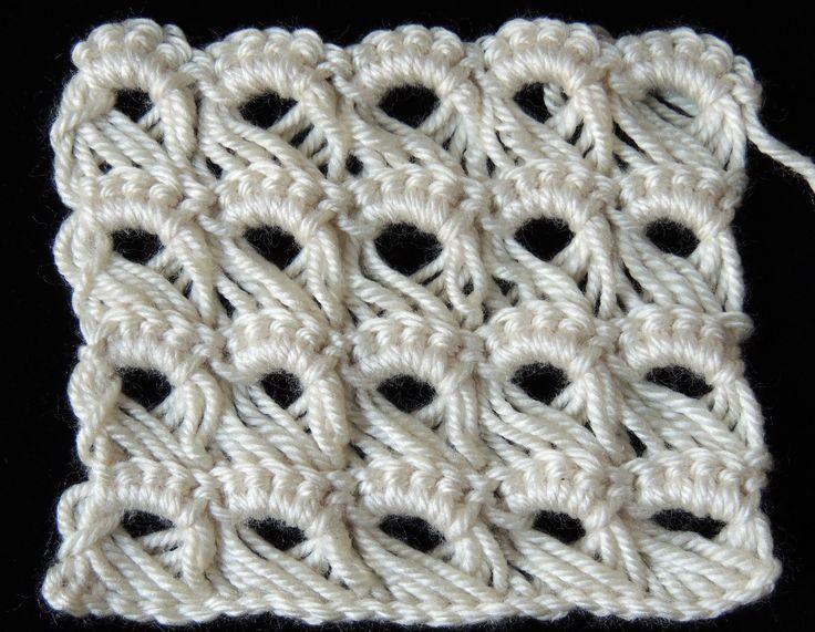 Punto Peruano en crochet