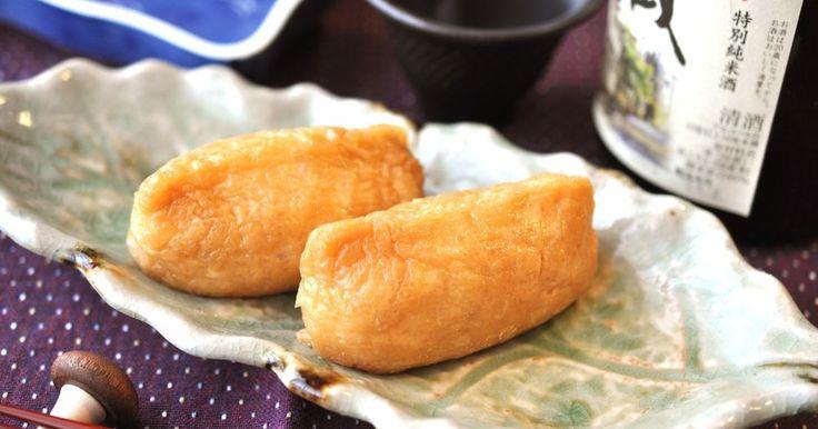 鮨屋のお稲荷さんの皮☆ ふっくら照りよく、 艶やかで綺麗な色に煮上がります。