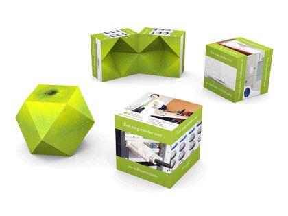 Magic Diamond7 Faltwürfel - Touchmore - Haptische Verkaufsförderung und Markenkommunikation