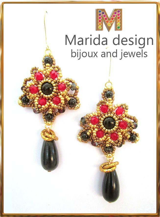 """""""Bolero"""" earrings"""