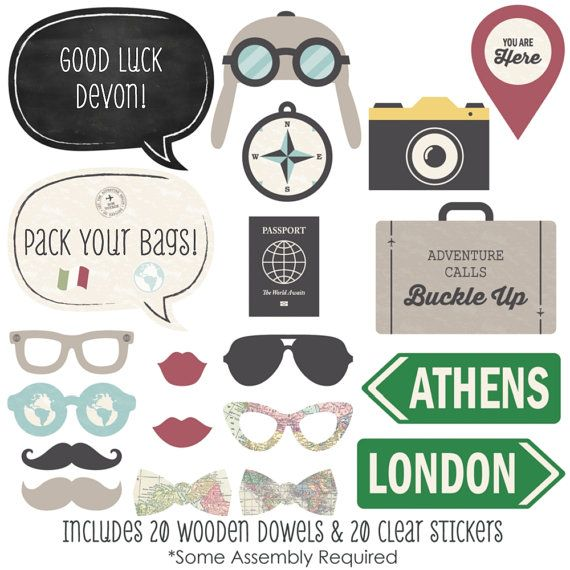 35 Pilot Party Props Airplane Party Diy Printable Photo Booth: Best 31 Photobooth Printables Images On Pinterest